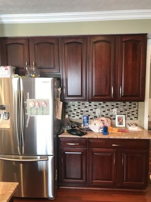 Before and After or Cabinet Painting in Cannonsburg, PA. (2)